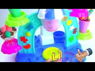 Плей до пластилин набор Фабрика мороженого Лепим из пластилина мороженое Play doh Ice Cream Facto