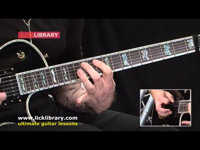 John Petrucci Style - Quick Licks Performance With Andy James Licklibrary