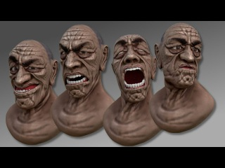 Advanced facial animation techniques in Blender 2.72b