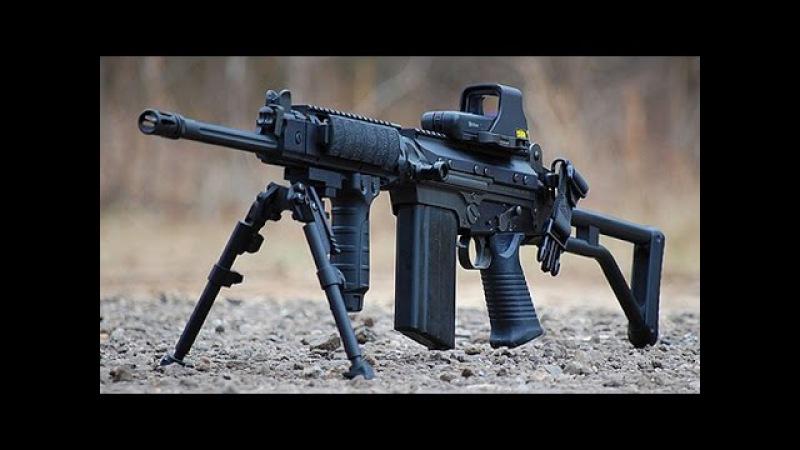 Штурмовая винтовка FN FAL. Огнестрельное оружие.