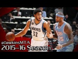 DeMarcus Cousins vs Karl-Anthony Towns Kentucky BEASTS Duel 2015.12.18 - 39 Pts Combined