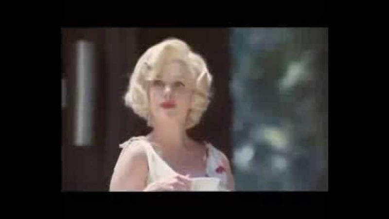 Реклама Мерседеса Мерлин Монро