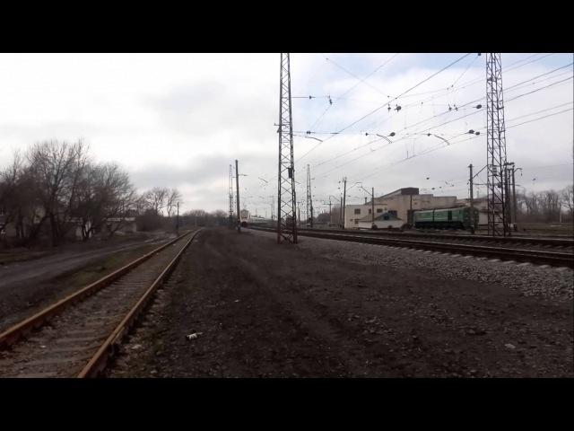 Экр1-001 Киев-Запорожье следует по станции Верховцево