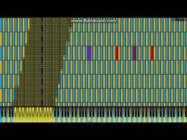 [Black MIDI] Pokemon Green Beta - Lavender Town 6 Million ~ Gingeas (Piano From Above) download