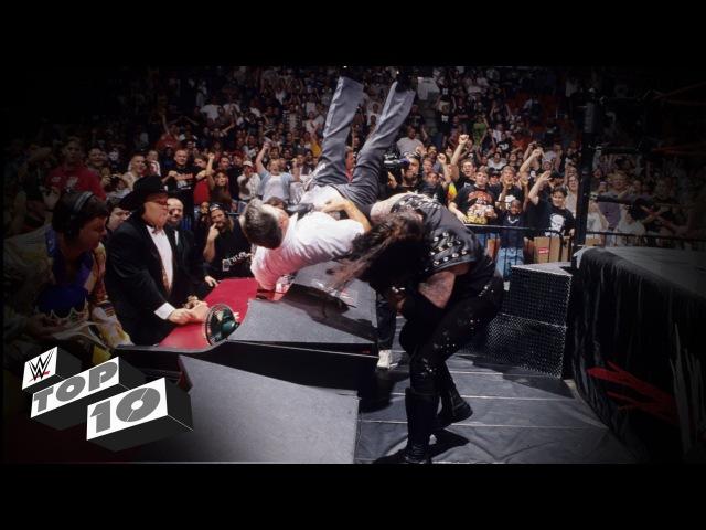 The Undertaker's Most Devastating Chokeslams: WWE Top 10