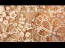 Irish crochet lace collar INIS by Olga Lace.