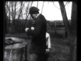 Барышня и хулиган (1918). В. Маяковский и Е. Славинский