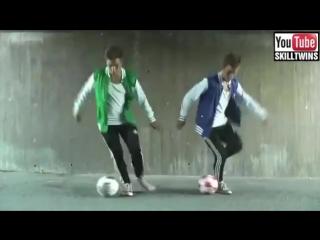 Уличный футбол, футзал, фристайл лучшие трюки