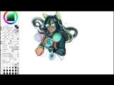 Speedpaint| Jade Harley - Homestuck