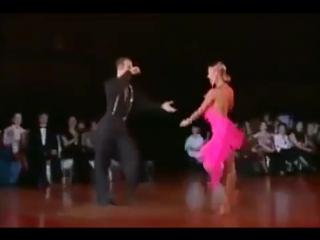 Латино-американская программа по бальному танцу. Ча-ча-ча