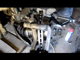 Замена тормозных дисков на Nissan Almera N16