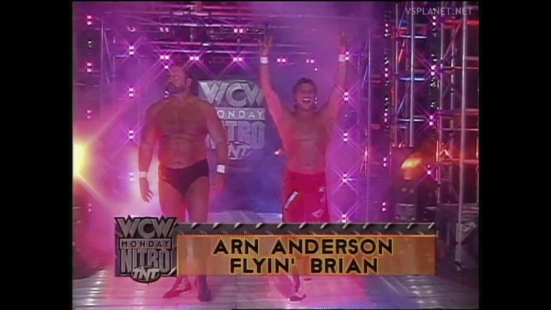 WCW Monday Nitro 16.10.1995, Flair Sting vs Anderson Pillman