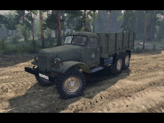 Spin Tires 2014 - ZiL-157