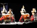 Шоу японских барабанщиков ASKA в Петербурге ч.1