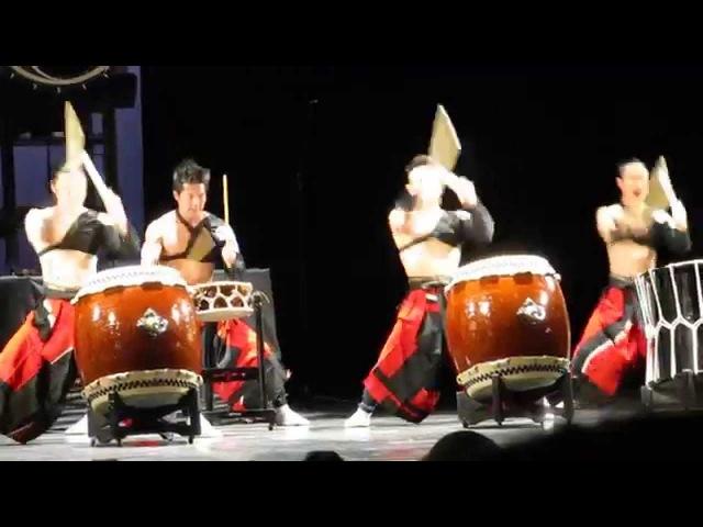 2014 Шоу японских барабанщиков ASKA в Петербурге ч.1
