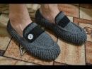 Мужские мокасины на войлочной подошве Men's moccasins on felt soles