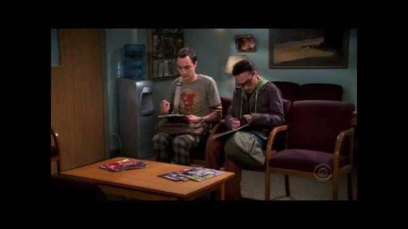 The Big Bang Theory / Теория Большого взрыва - Банк спермы