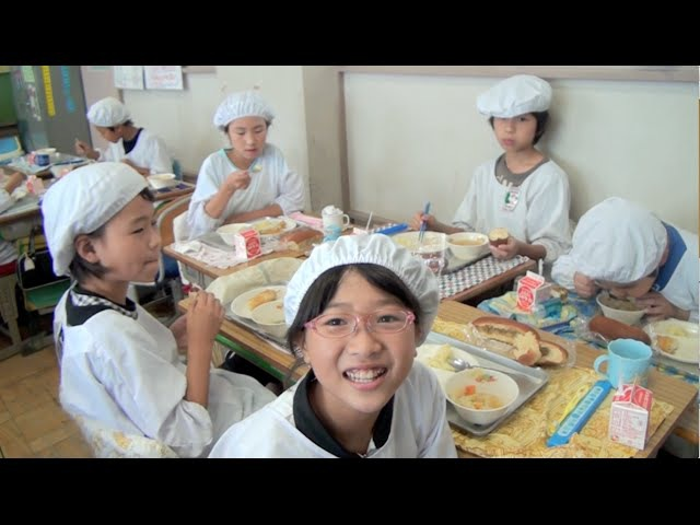 School Lunch in Japan - Its Not Just About Eating!
