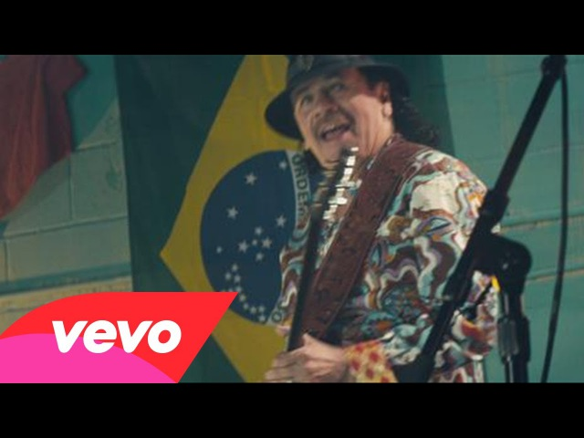 Santana - Dar um Jeito (We Will Find a Way) [Official 2014 FIFA World Cup Anthem]