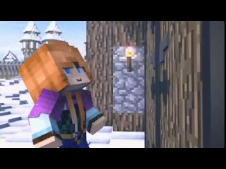 FUNNIEST MINECRAFT ANIMATION OF Do You Want TO Build a Snowman FROZEN