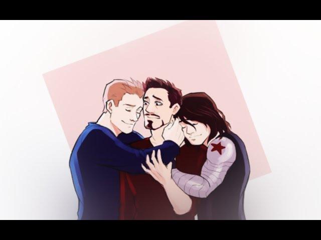 Tony/Steve/Bucky | How you remind me.