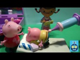 Укол у Доктора   Свинка Пеппа Мультфильм для детей   Peppa Pig  Игрушки Новая серия