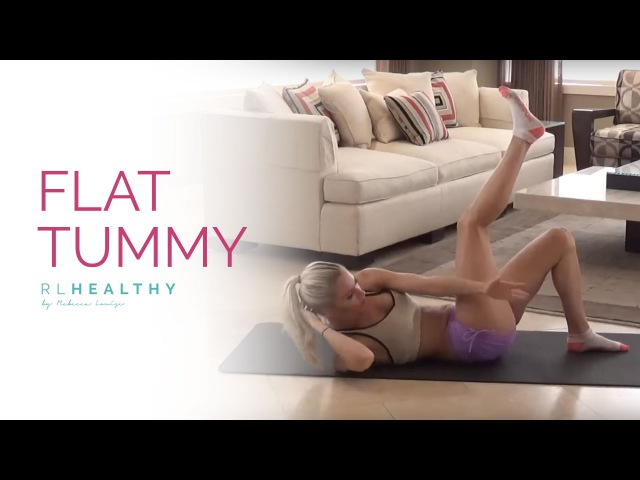Плоский животик с Ребеккой Луиз. Flat Tummy | Rebecca Louise