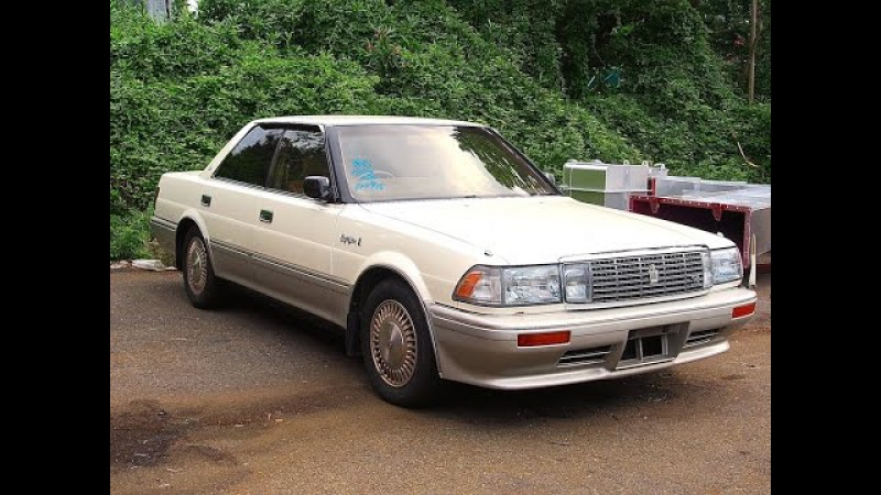 1989 Toyota Crown V8 Japan Auction Purchase Review