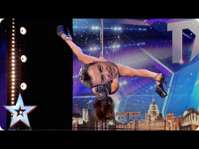BGMT WARNING: this pole dancing clip is a little bit naughty! | Britain's Got Talent 2015