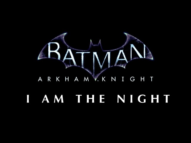 BATMAN ARKHAM SONG I Am The Night by Miracle Of Sound