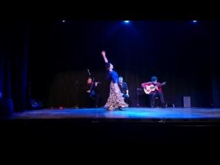 Горячая и красивая пара профессиональных исполнителей танца Фламенко! Полное видео