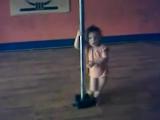Девочка танцует стриптиз))) Вот это дааааааааа........