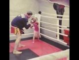 Тренировка с детьми по кикбоксингу. #championtrainer #AlexJmakin