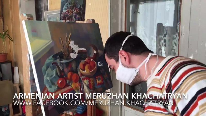 художник Меружан Хачатрян