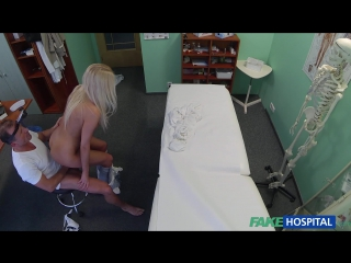FakeHospital.com: Karol Lilien - Horny busty blonde receives a creampie from the doctor (2015) HD