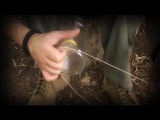 Как сделать простейшую ловушку для рыбы