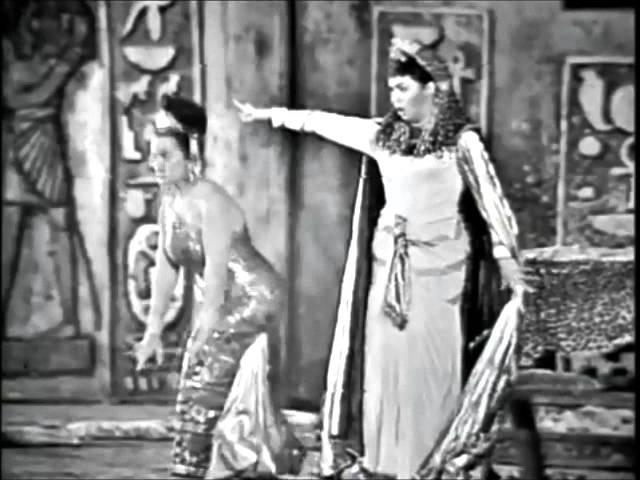 Leyla Gencer and Fiorenza Cossotto - AIDA - Fu la sorte dellarmi - Verona, 1966