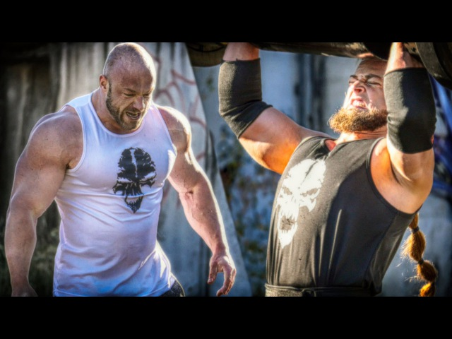 Bodybuilder VS Strongman - STRENGTH WARS 2k15 6