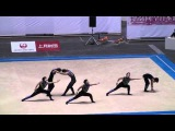 Amazing gymnastics .This is a group of Men RG in Japan.