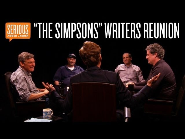The Simpsons Writers Reunion -- Serious Jibber-Jabber with Conan O'Brien - CONAN on TBS