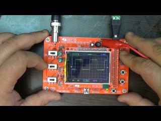 Дешевый осциллограф-конструктор из Китая: DSO138 - Тестирование