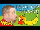 Fruit for Children | Steve and Maggie | English for Kids | ESL English Stories
