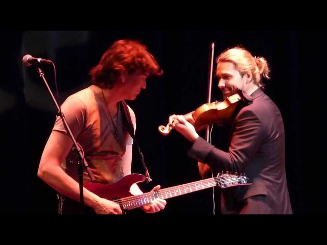 David Garrett - Thunderstruck (AC/DC) live in Chicago, March 15, 2014