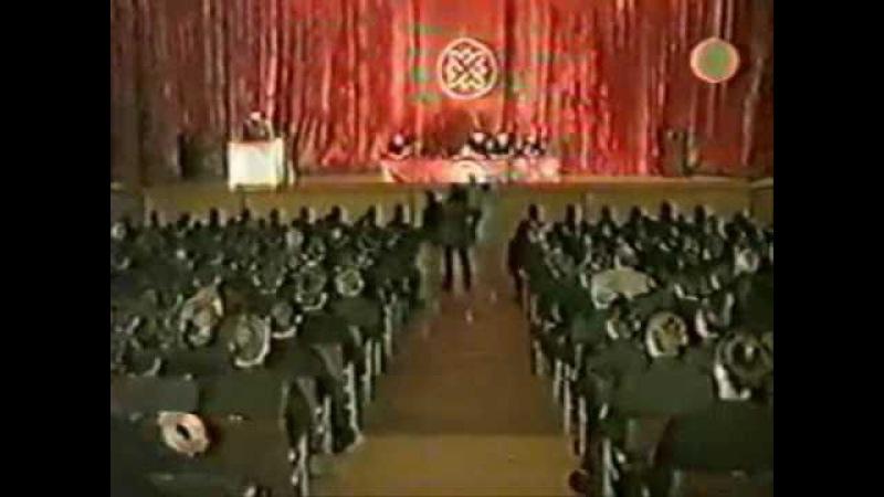 Ветераны Великой Отечественной в едином строю РНЕ