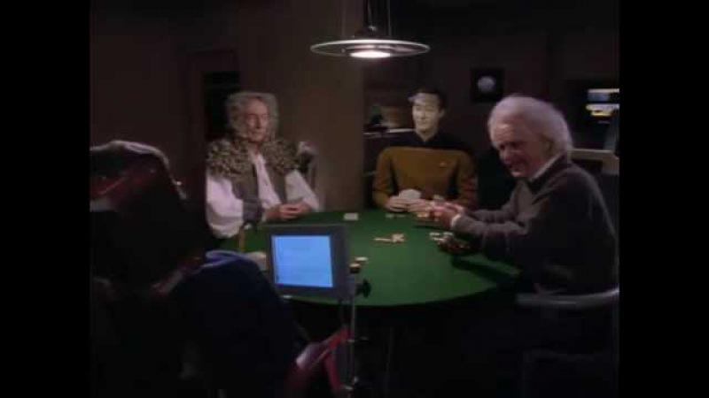 Хокинг, Эйнштейн, Ньютон в галокамере Энтерпрайза