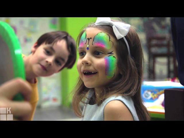 Детский праздник в студии SandLand, СПб, видеоотзыв