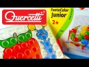 Playing with Quercetti Fantacolor Junior Pegboard Set, Unboxing Toy Review