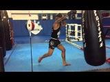 How to throw a Muay Thai Straight Knee-CROM aka Chris Romulo