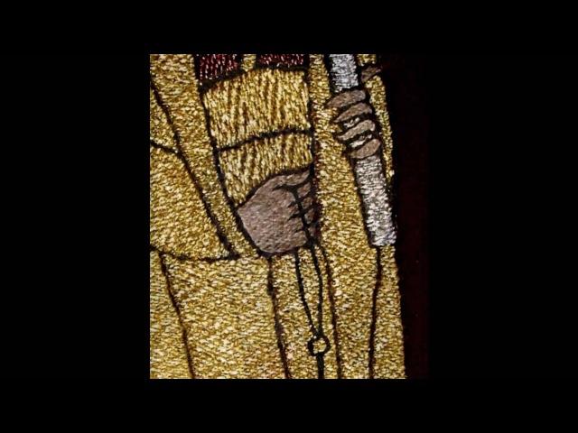Nino guliashvili-ნაქარგობა ოქრომკედი