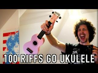 100 Rock Riffs Go Ukulele!